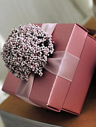 cheap -Cubic Card Paper Favor Holder With Flowers Favor Boxes Gift Boxes-6
