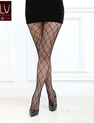 abordables -Collant Moyen-Géométrique Femme