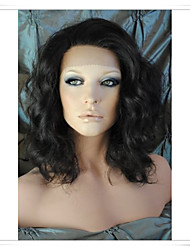 cheap -Human Hair Full Lace / Lace Front Wig / Glueless Full Lace Wig Wavy Density Short / Medium Length / Long Human Hair Lace Wig / Glueless Lace Front