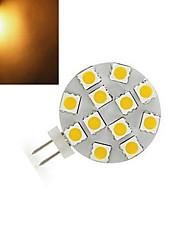 200 lm G4 Luminárias de LED  Duplo-Pin 12 leds SMD 5050 Branco Quente Branco Frio DC 12V
