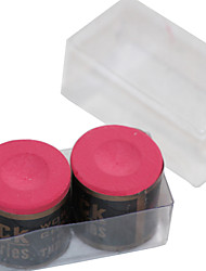 baratos -uma caixa de 2 x peças de snooker ou bilhar cilíndrico fanfarrão giz de várias cores
