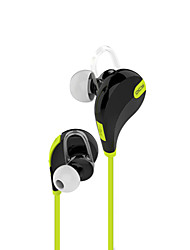 cheap -In Ear Wireless Headphones Plastic Driving Earphone with Volume Control with Microphone Headset
