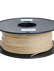 cheap -Geeetech 1.75Mm 1Kg Wood Filament For 3D Printers Natural Wood Color