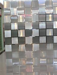 Недорогие -Геометрический принт Классика Пленка на окна, ПВХ/винил материал окно Украшение Столовая Спальня Для гостиной Для кухни