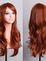 cheap -Fashion Color Cartoon Colored Wig Special Masquerade 70 CM Brown Wig