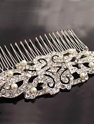 abordables -aleación peines peinados casco estilo elegante femenino fiesta