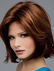 cheap -Europe And The United States  Sell Like Hot  Cakes  Golden Brown Up Short Wig