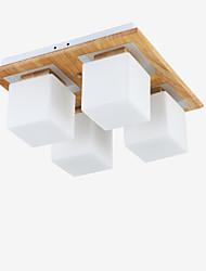 baratos -Moderno/Contemporâneo Estilo Mini Montagem do Fluxo Luz Descendente Para Sala de Estar Quarto Cozinha Sala de Jantar Quarto de