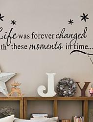 Недорогие -живая смех любовь семья наклейки на стены декоративные zy8175 ADESIVO де Parede Съемный стикер стены