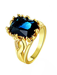 cheap -May Polly 18K gold plated color sapphire ring