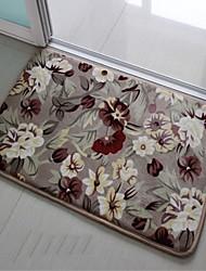 home rodina květinový vzor podlahové protiskluzové set Koupelnové předložky