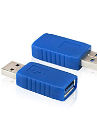 USB 3.0 A Female to USB 3.0 A Male Plug Extension Connector Converter Adapter