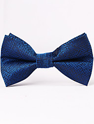 cheap -Men's Party / Evening Formal Style Luxury Grid Office / Business Bow Tie - Creative, Stylish