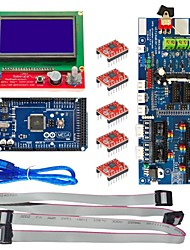 The 3D Control Board (3D1.57 Board +2560 r3+3D12864+5 Suite 4988)