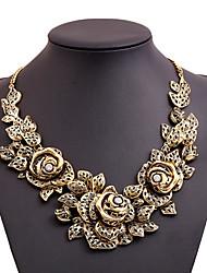 Dame Erklæring Halskæder Imitation Diamond luksus smykker Guld Smykker For Fest