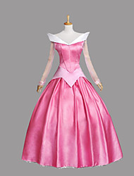 cheap -Cosplay Costumes Princess Fairytale Movie Cosplay Pink Blue Dress Halloween Christmas New Year Female