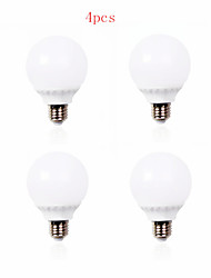 billige -700 lm E26/E27 LED-globepærer A60(A19) 30 leds SMD 2835 Dekorativ Varm hvid Kold hvid AC 220-240V