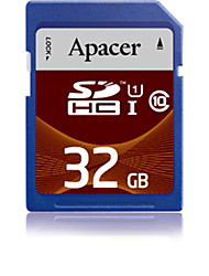 abordables -Apacer 32GB UHS-I U1 / Clase 10 SD/SDHC/SDXC (MB/S) (MB/S)