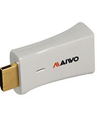 Недорогие -maiwo kcb005 HDMI для VGA адаптер белый