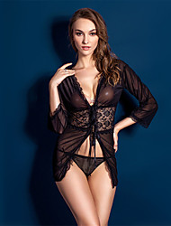 cheap -Women Lace/Polyester Lace Lingerie/Ultra Sexy/Suits Babydoll Lingerie