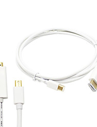 6ft / 1.8m thunderbolt Mini Displayport auf-Kabeladapter für MacBook Pro hdmi& MacBook Air