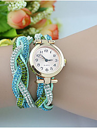 Fashion Women's  Crystal Pearl ChainBracelet Watch Cool Watches Unique Watches