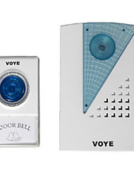 Generic VOYE V001A Remote Control Wireless LED Doorbell Door Bell CPVC