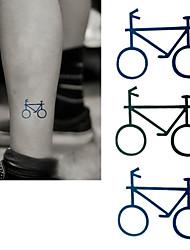 2016 новая картина водонепроницаемый татуировки временный велосипед паста, 3шт