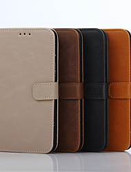 cheap -5 Inch Crazy Ma Pattern Luxury Genuine Leather Wallet Case for Samsung Galaxy J5 J5008