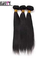 Human Hair vævninger Peruviansk hår Lige 1 Stykke hår vævninger