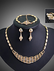 cheap -Women's Jewelry Set Vintage Party Work Casual Link/Chain Fashion Statement Jewelry Party Special Occasion Anniversary Birthday Gift