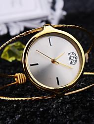 ieftine -pentru Doamne Ceas La Modă Quartz Rezistent la Apă Metal Bandă Casual Argint Auriu Roz auriu Marca