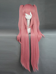 cheap -Cosplay Wigs Seraph of the End Krul Tepes  Cosplay Pink Long Anime Cosplay Wigs 100+60 CM Heat Resistant Fiber Male Female