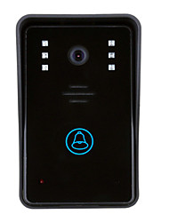 cheap -ENNIO Wireless Photographed Recording 3.5inch Telephone 720Pixel One to One video doorphone