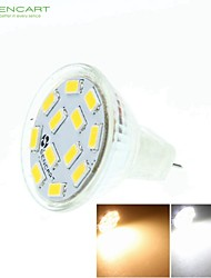 5W GU4(MR11) Focos LED MR11 12 leds SMD 5730 Regulable Decorativa Blanco Cálido Blanco Fresco Blanco Natural 3500/6000/6500lm 3500K 6000K