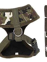 Katze Hund Geschirre Hundekleidung Lässig/Alltäglich camuflaje Tarnfarbe Leopard