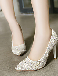 Rød / Hvid / Guld - Stilethæl - Kvinders Sko - Hæle / Spids tå - Glitter - Formelt - høje hæle