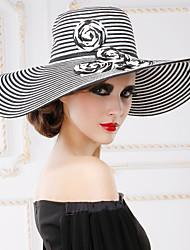 Недорогие -Женский Плетеные изделия Заставка-На каждый день / на открытом воздухе Шапки 1 шт. Head circumference 57cm