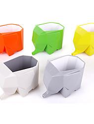 Недорогие -Jumbo держатель слон столовые приборы держатель зубной щетки (случайный цвет)