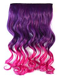 Недорогие -смешивать цвета волн тело синтетические расширения густые волосы клип на волосы