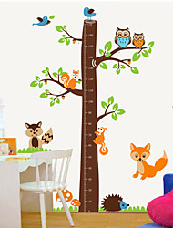 Wall Stickers Wall Decals Style Squirrel for Measure Your Height PVC Wall Stickers