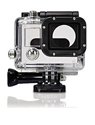 cheap -Protective Case Waterproof Housing Case Waterproof For Action Camera Gopro 3 PVC