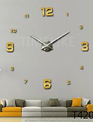 3D New Fashion Design Large Wall Clock Home Decor Diy Clock