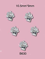 economico -10 - Gioielli per unghie/Altre decorazioni - Cartoni animati/Frutta/Fiore/Astratto/Adorabile/Punk/Matrimonio - Dito/Dito del piede/Altro-