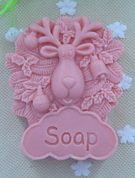 cheap -Sheep animal Soap Mold  Fondant Cake Chocolate Silicone Mold, Decoration Tools Bakeware