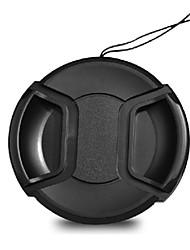 58 milímetros tampa da lente da câmera dengpin para samsung lente 18-55mm NX10 NX11 NX30 nx300m NX200 NX100 nx210 + uma corda titular