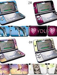 peaux de couverture peau autocollant de décalque édition limitée en vinyle pour Nintendo 3DS XL / LL système de console