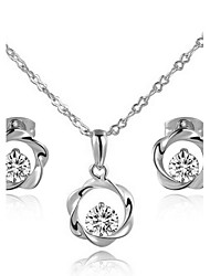 cheap -Women's Crystal Jewelry Set - Crystal, Cubic Zirconia Include For Wedding / Party / Daily