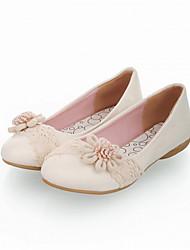 ДЕВУШКА - Обувь на плоской подошве (Черный/Розовый/Белый) - С круглым носком