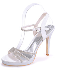 cheap -Women's Shoes Silk Stiletto Heel Open Toe Sandals Wedding/Party & Evening  Wedding Shoes More Colors available